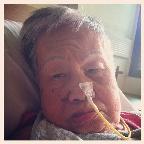 This is my beloved grandmother.